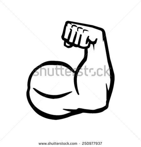 Flexing Arm Logo Bing Images Arm Muscles Arm Drawing Hand Logo