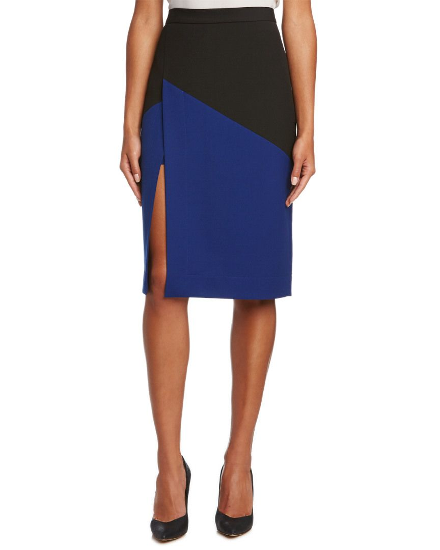 BCBGMAXAZRIA Jowell Colorblock Pencil Skirt is on Rue. Shop it now.