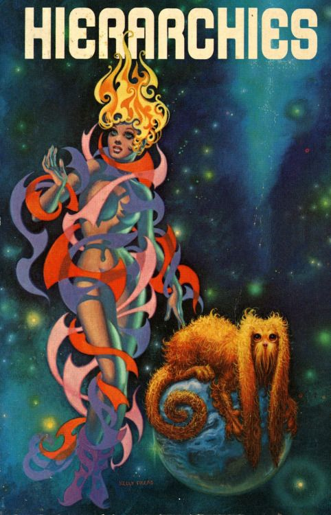 Frank Kelly Freas - Hierarchies, 1973.