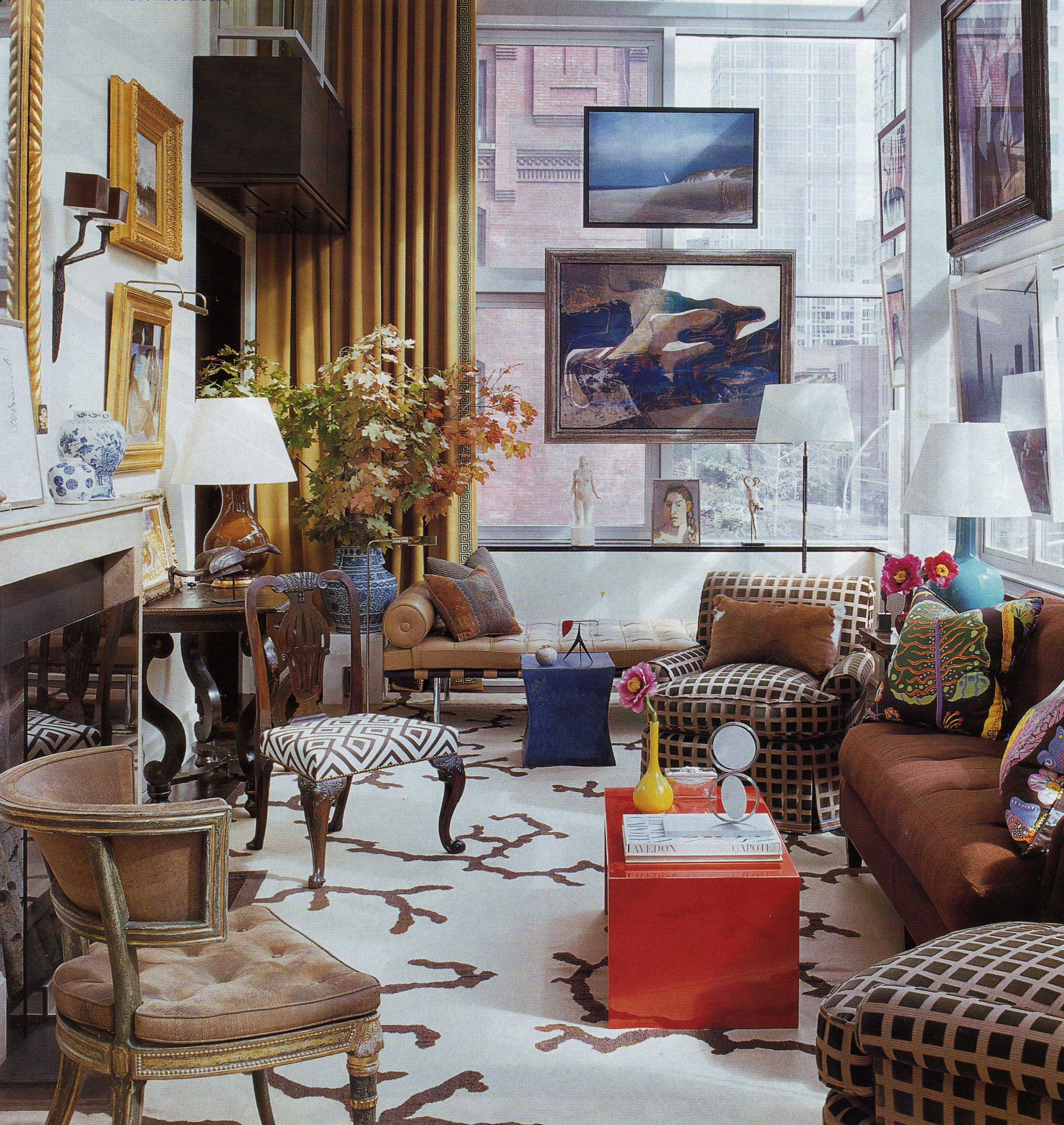 14 Signs You Have Eclectic Style | Elle decor, Living rooms and ...