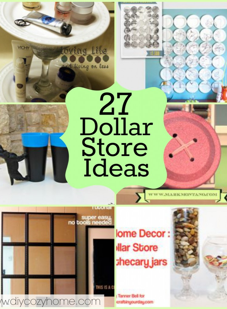 Tons of dollar store craft decor projects to make for Dollar store art