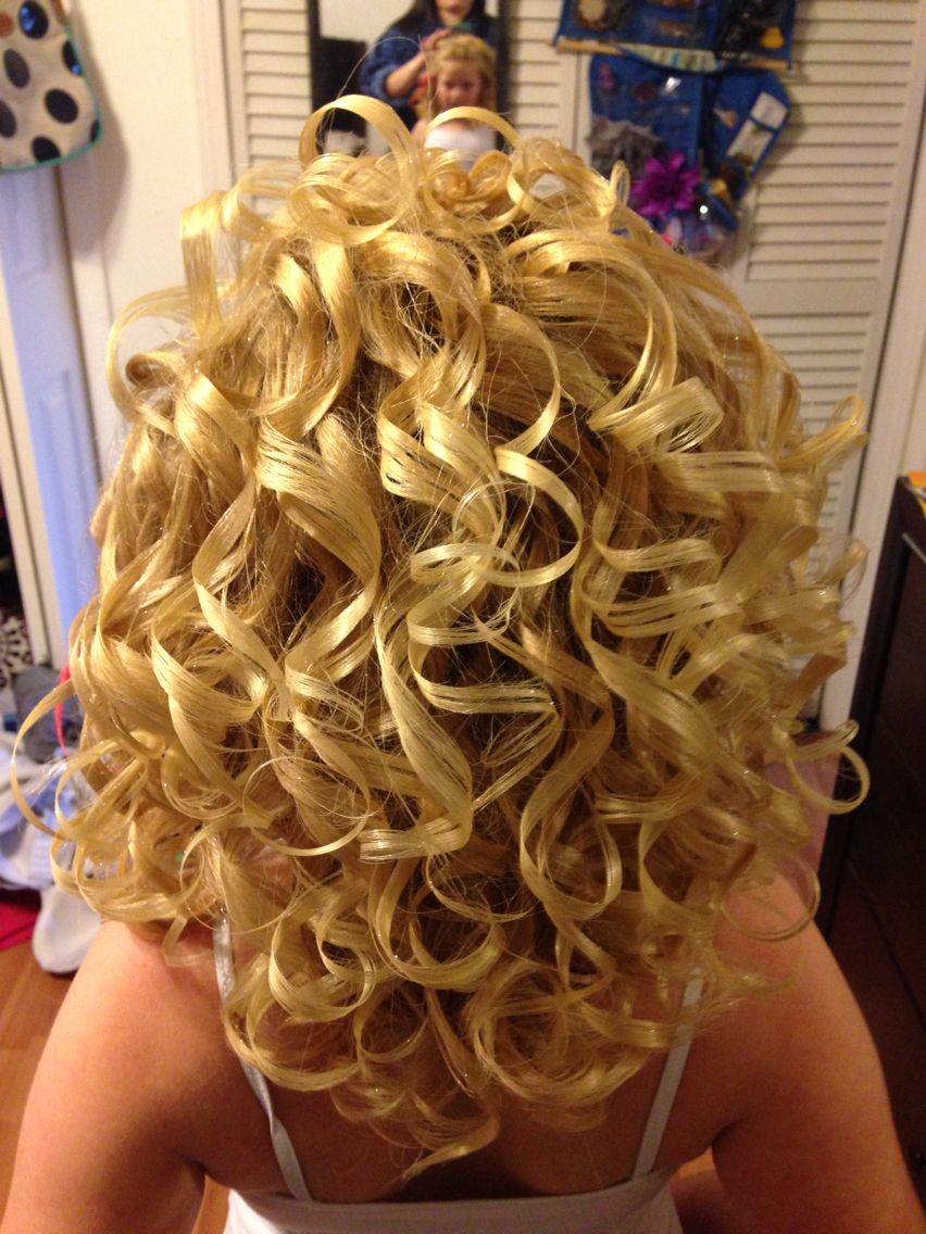 pageant hair, toddler pageant, blonde curls | haaaair in