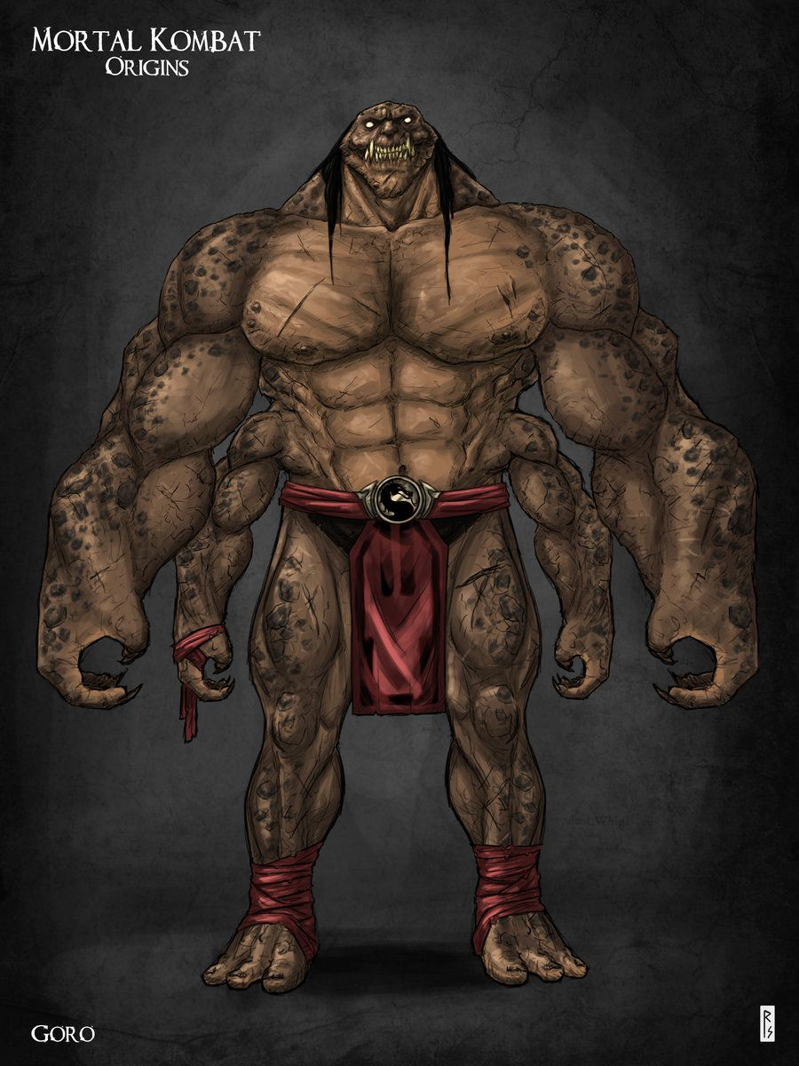 Goro - Mortal Kombat - Robert Schilling | Video games! :D