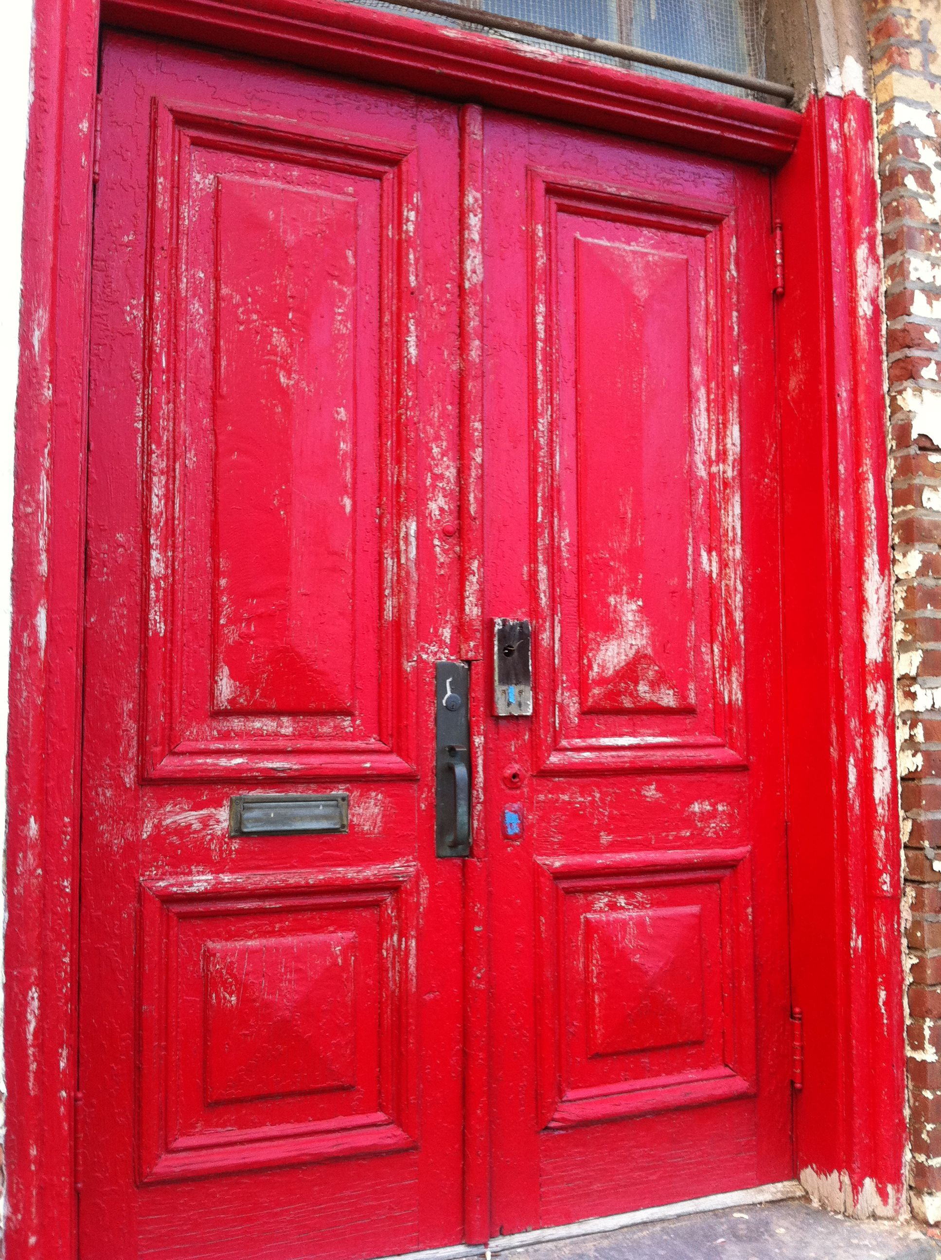 Old red doors. Kingston NY & Old red doors. Kingston NY | Kingston New York | Pinterest