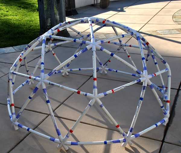 Dome Home Kits: 2V Geodesic Dome (geodome) Made From Sonostar's Basic