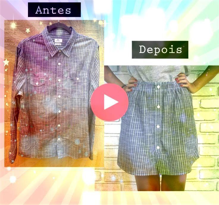 das Herrenhemd in Rock Reform der Kleidung s    Zero waste Verwandle das Herrenhemd in Rock Reform der Kleidung s    Zero waste  Heres how to transform a mens button up d...