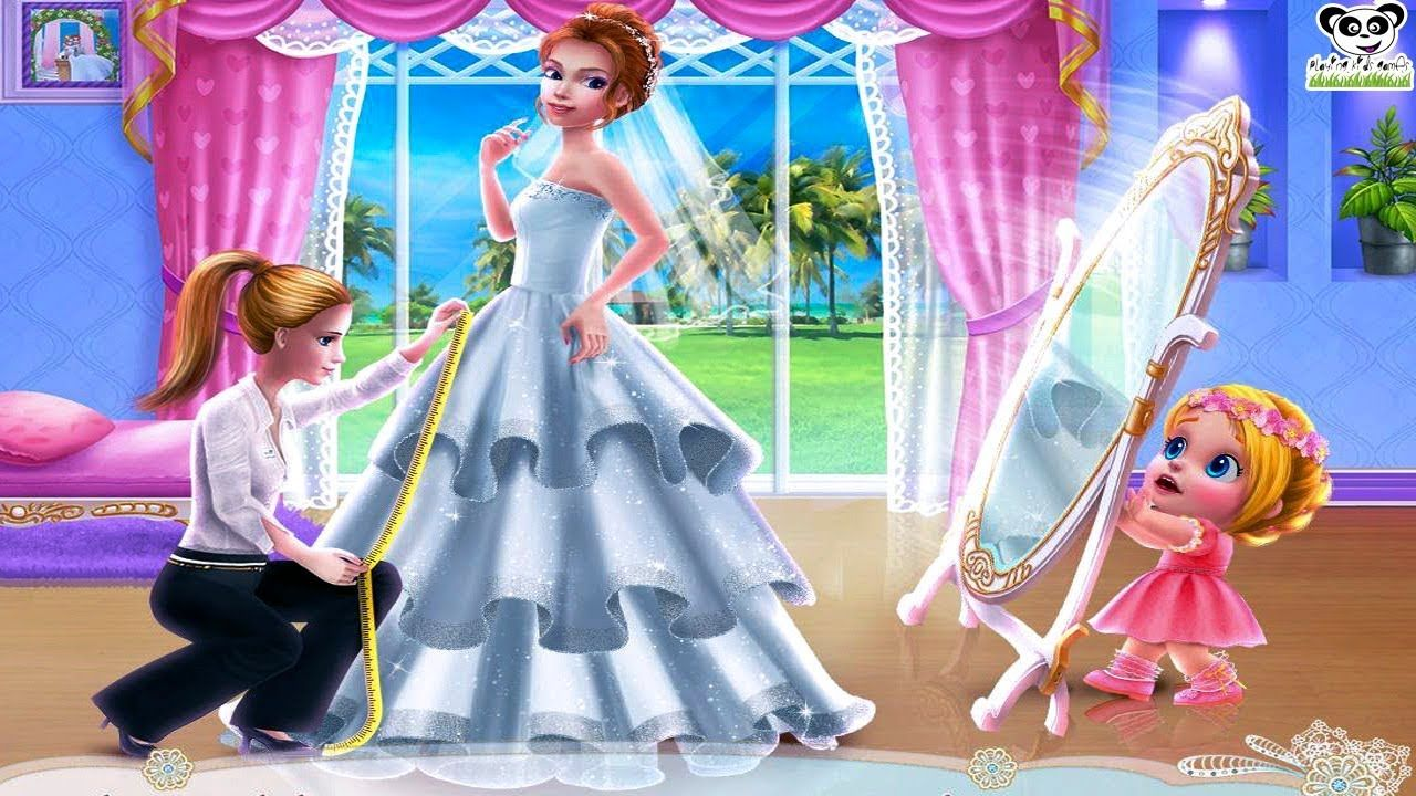 Playing Kids Games Wedding Planner Girls Game All Unlocked Android Games For Girls Kids Playing Planner Girl