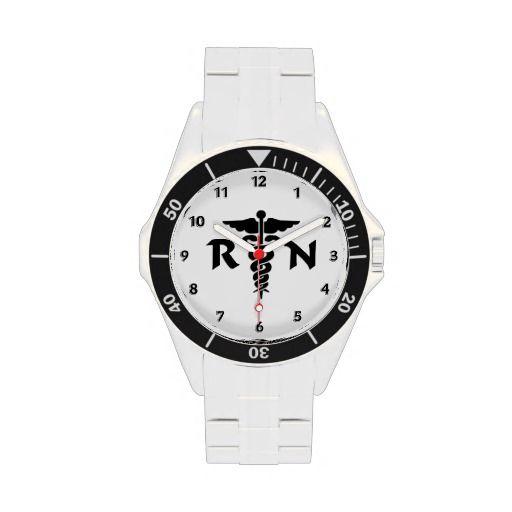 Rn Nurses Medical Symbol Watch Nurses Rn Nursing Pinterest