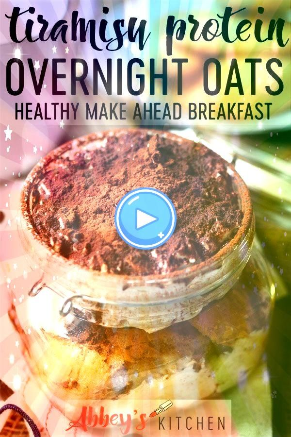 Overnight Oats  Tiramisu Overnight Oats   Thick and creamy pumpkin pie overnight oats with chia are a nutritious healthy breakfast Top with nuts maple syrup cranberries c...