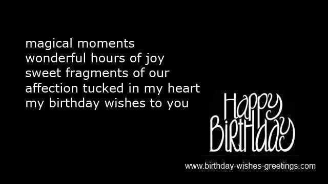 birthdaywishesandquotesforboyfriend – Birthday Card Sayings Husband
