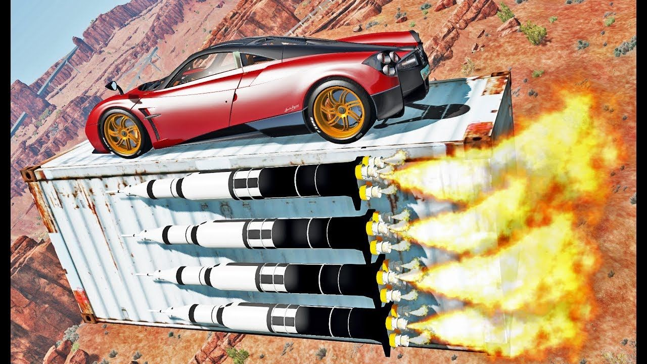 Bonkers Missile Car Launcher Thing Beamng Drive 2020 In 2020