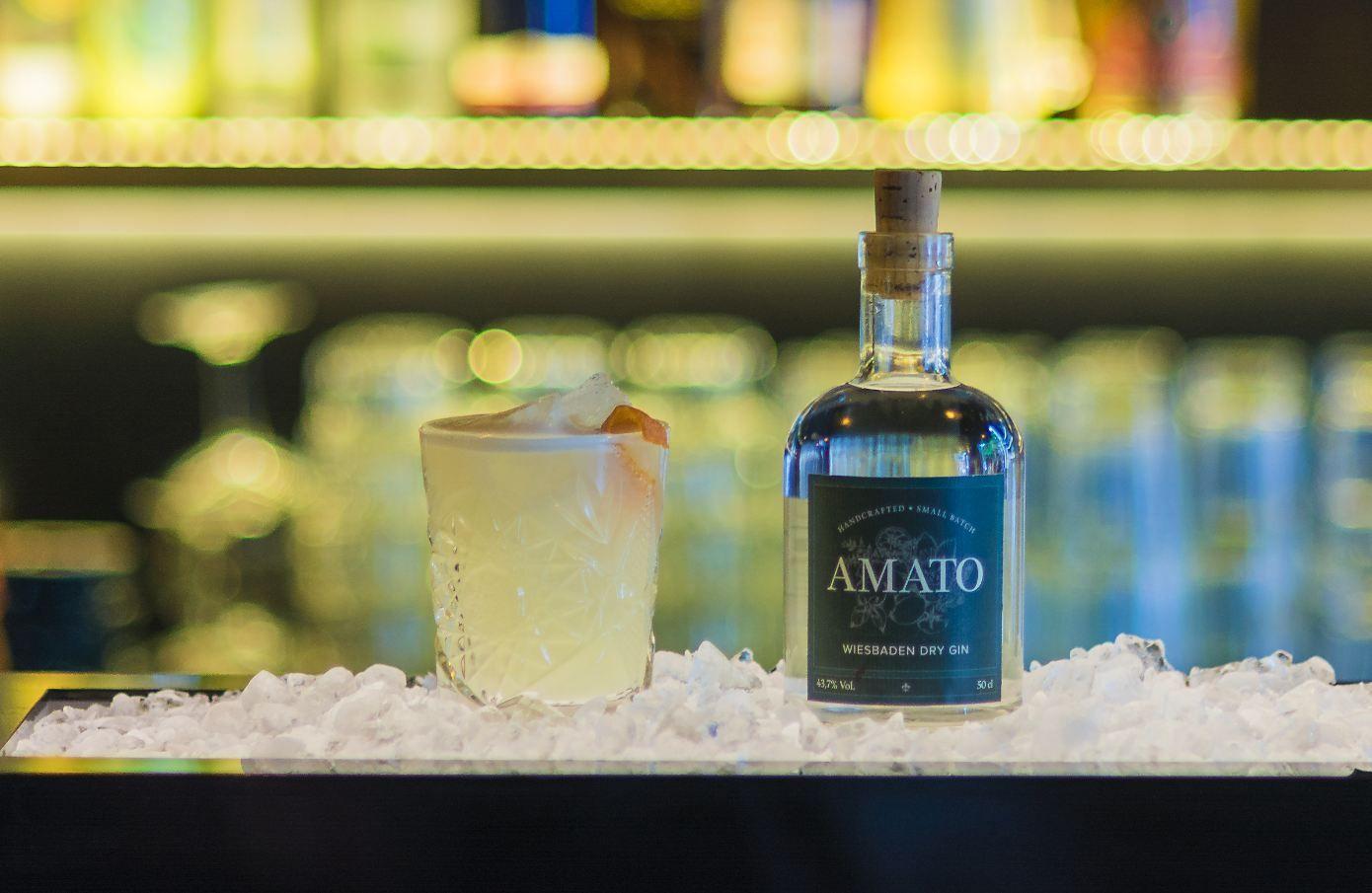 Amato Sour | Hausbar | Pinterest | Wiesbaden, Gin and Bartenders