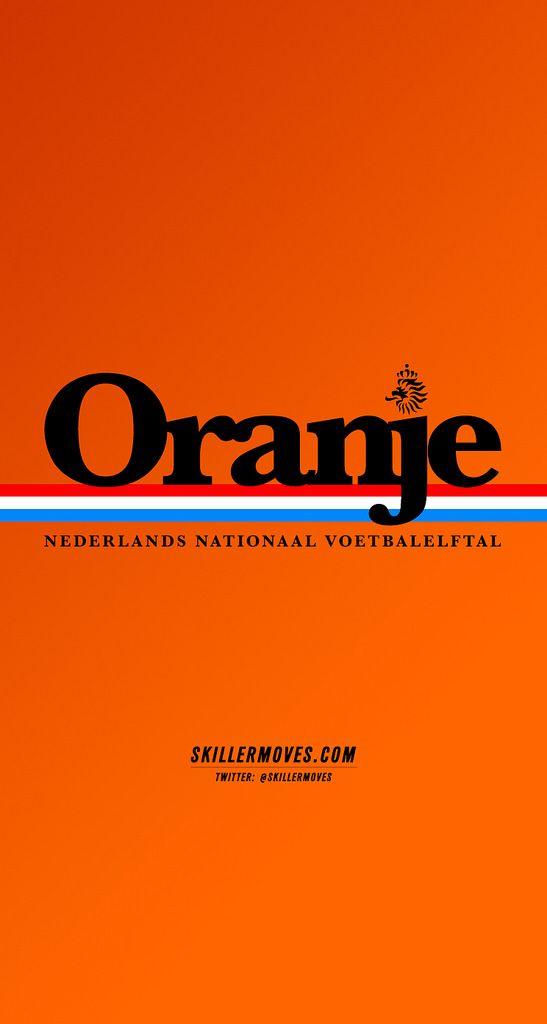 Netherlands Retro Football Sport Poster Netherlands
