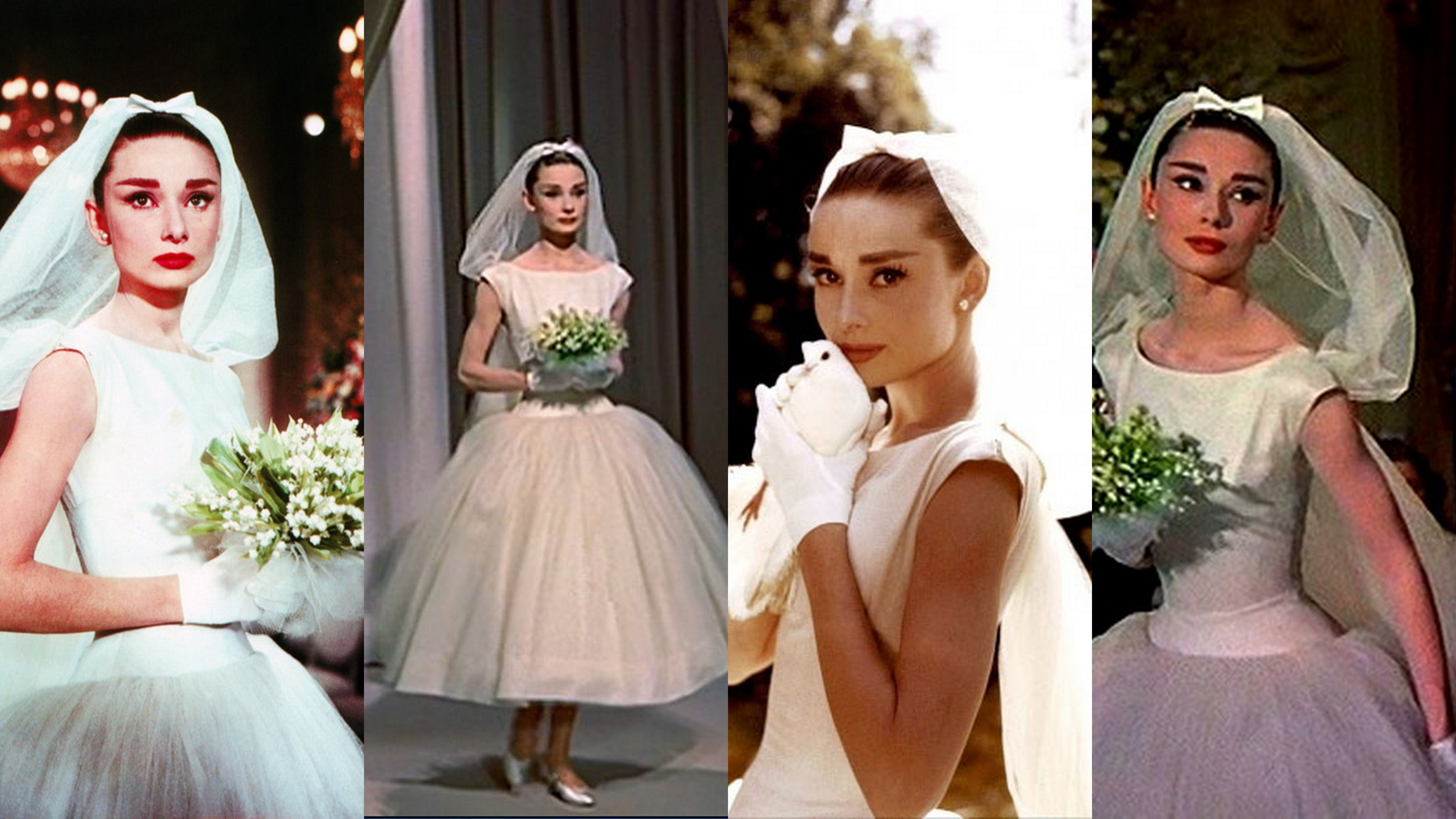 Costume: Jo Stockton\'s Wedding Gown from Funny Face Designer - Edith ...