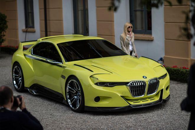 Bmw 3 0 Csl Hommage Concept Revealed At Villa D Este Bmw Bmw