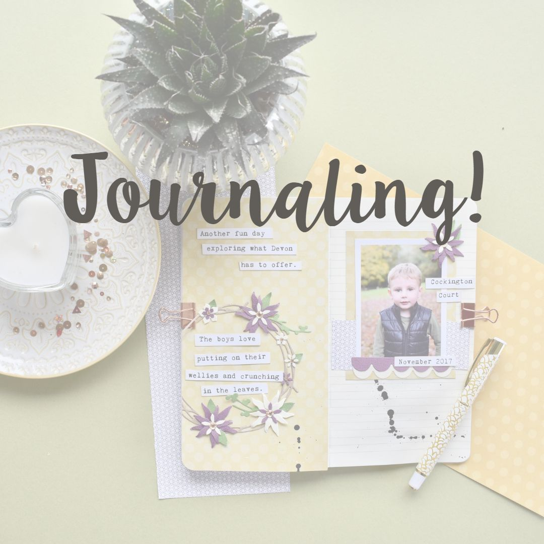 Pin By Sizzix On Journaling Amp Scrapbooking