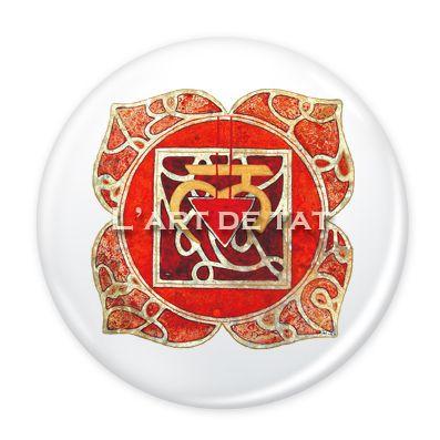 Chakra Muladhara - Chakra Raiz / Pin & Magnet 6 cm. 5€ unidad