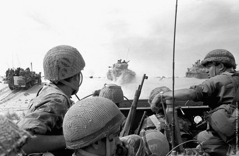 Фотографии Шестидневной войны. 5-11 Июня 1967. 50-ая годовщина победы Израиля