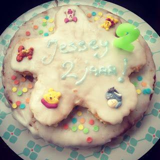DIY: easy way to make a kids birthday cake