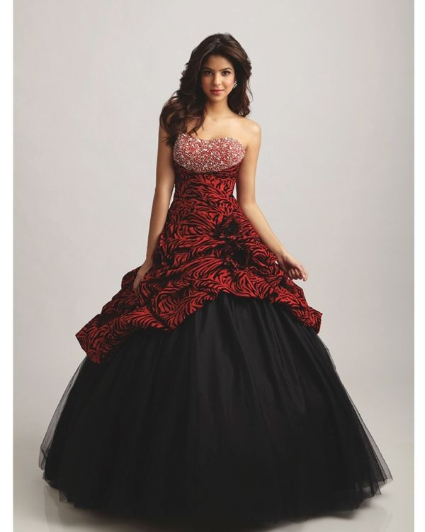 pretty red/black ball gowns - Google Search | Ball Gowns | Pinterest ...