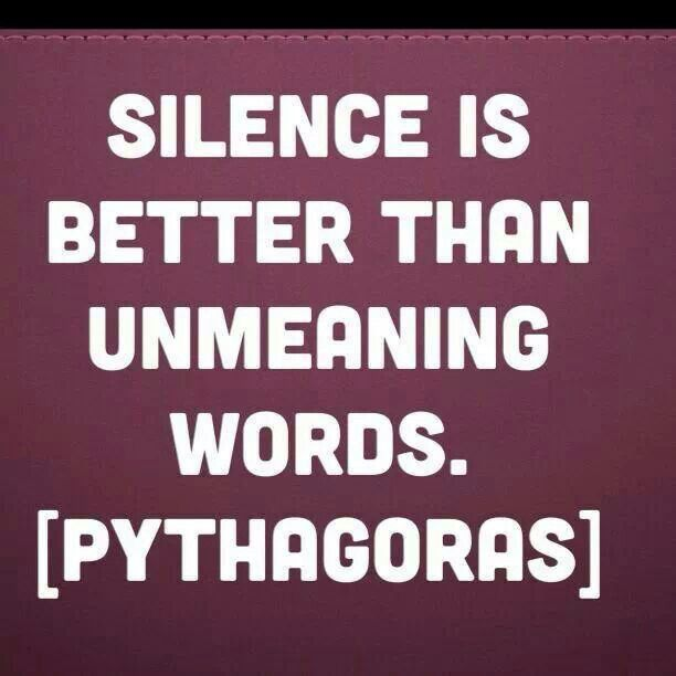 #EnjoyTheSilence