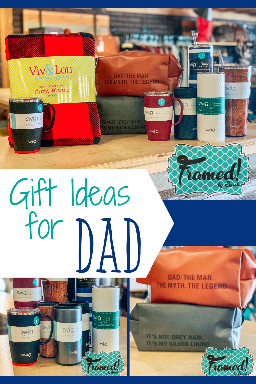 Our Favorite Gift Ideas for Dad! in 2020 | Favorite things gift, Personalized fathers day gifts ...