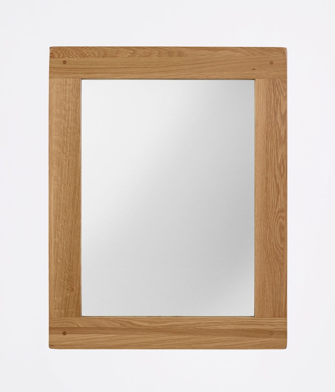 Westbury Reclaimed Oak Rectangular Mirror - 760 x 600mm | Fantastic ...