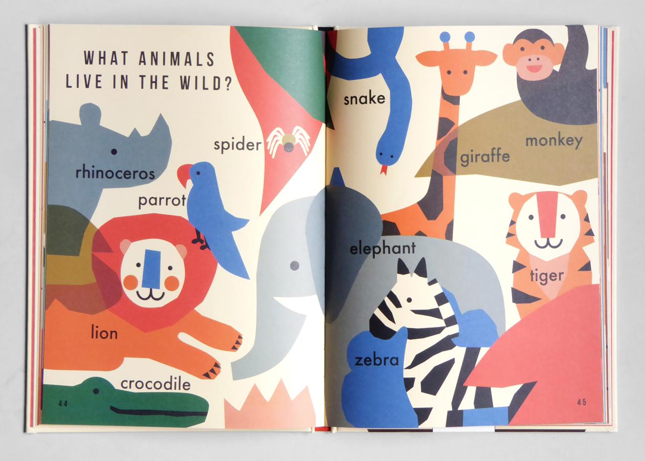 1000 Things Kids Design Book Design Children Illustration