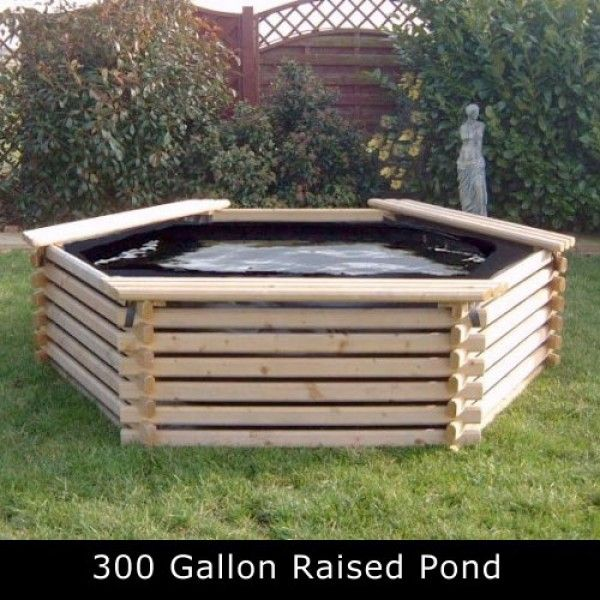 300 Gallon Raised Pond Raised Pond Pond Kits Garden Pool