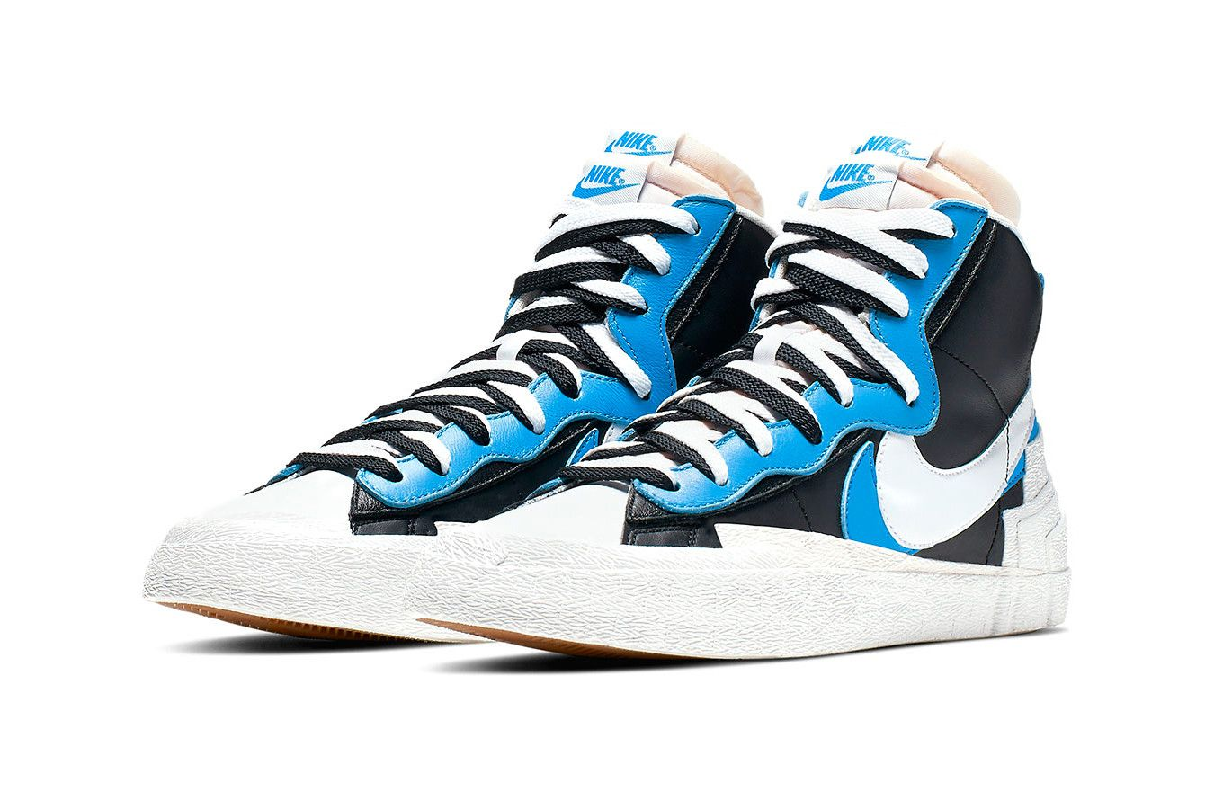 official photos 173dd ea138 Take a Closer Look at the sacai x Nike Deconstructed Blazer ...