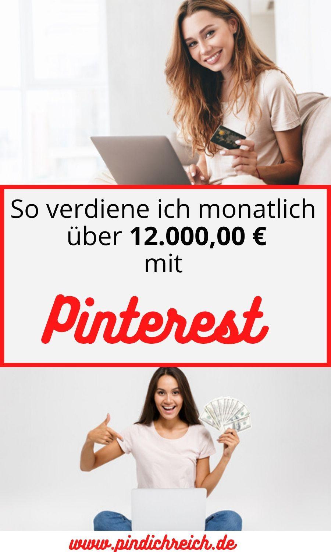 Pin auf Geld verdienen im Internet
