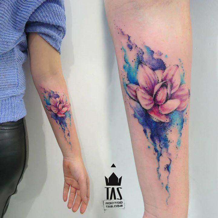 Wonderful and colorful tattoos by Rodrigo Tas