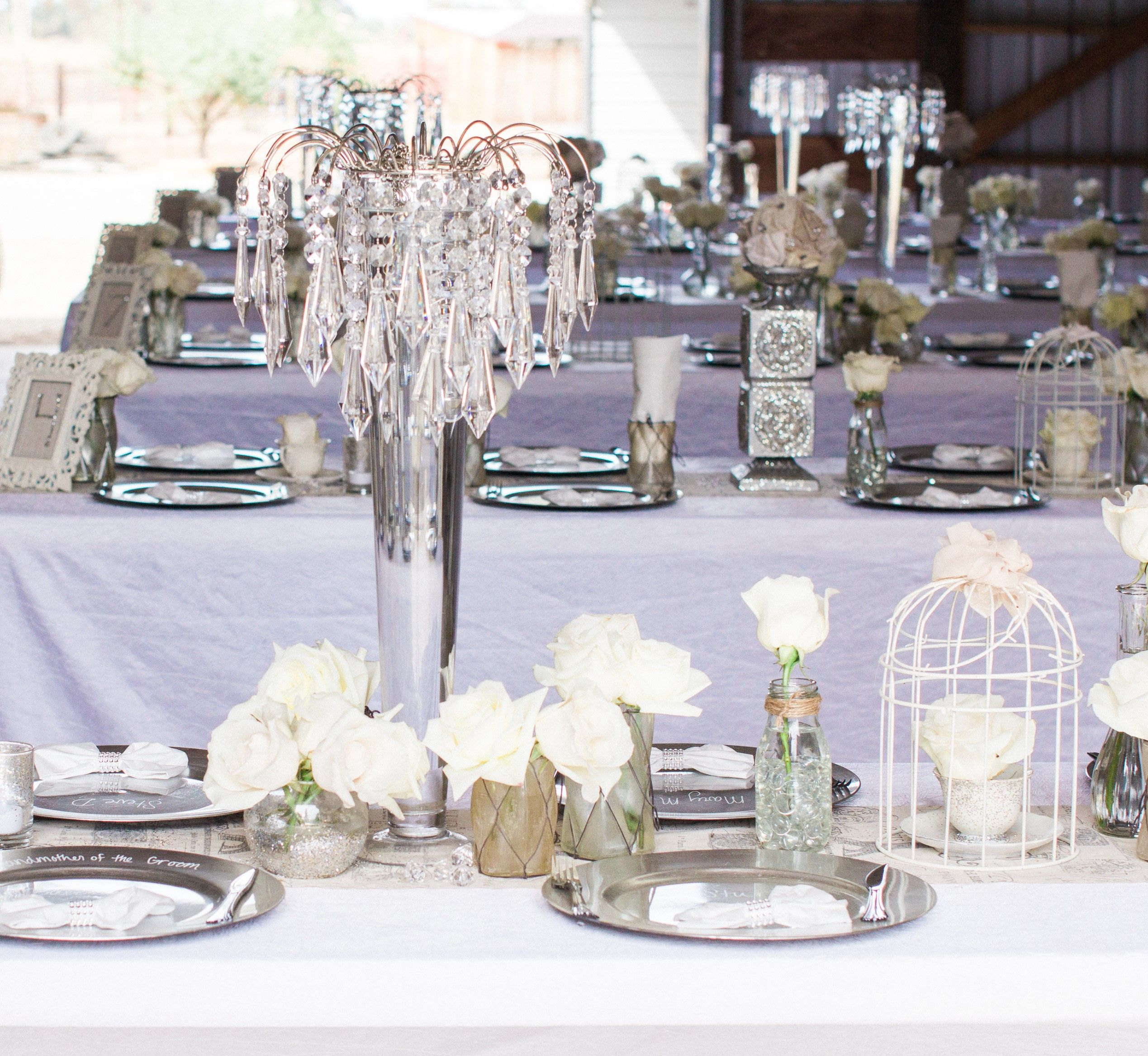 See how these floral centerpieces were created on a budget. The ...