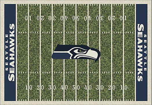 Nfl Seahawks Home Field 3 X 5 Rug