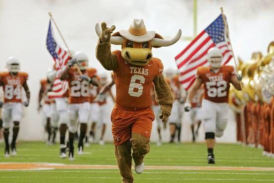 Texas Longhorns - costumed Bevo mascot & Texas Longhorns - costumed Bevo mascot   University of Texas ...