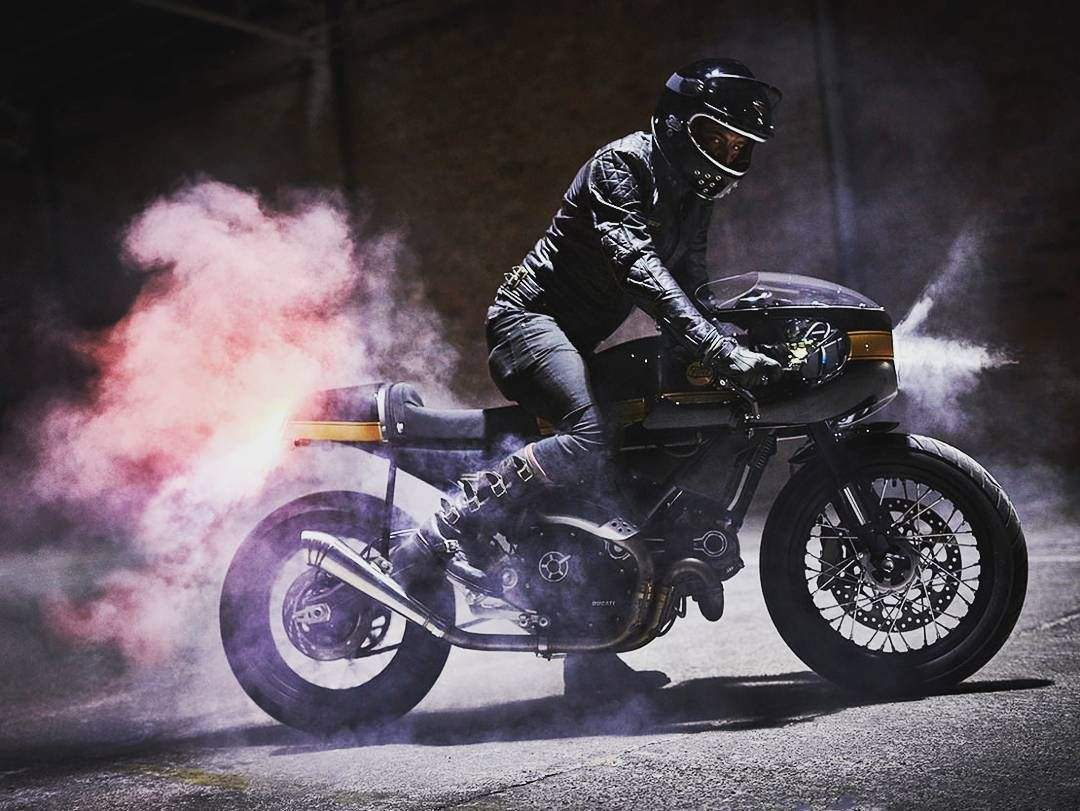 Ducati Scrambler Cafe Racer Caferacer Modified Mods Vintage Classic Custom Custommotorcycle Motorcycle Bikes Biker