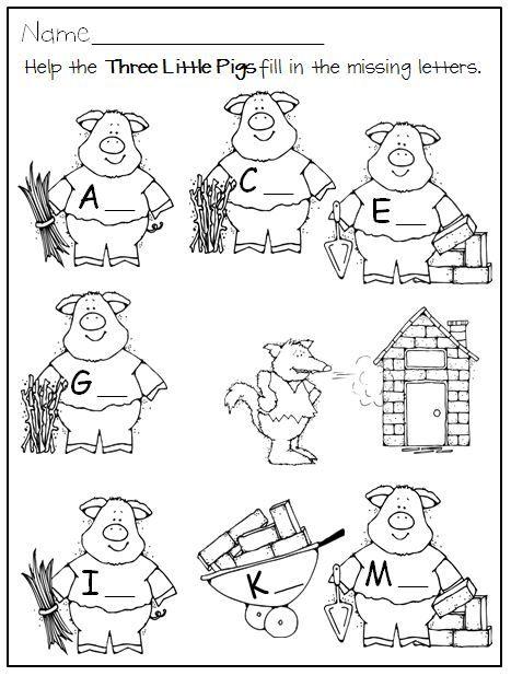 Fairy Tales Activities and Centers for Kindergarten