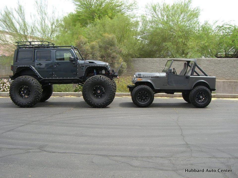Hubbard Auto Center >> Big And Small Still Cool Jeep Jeep Dealer Jeep Jeep Cars