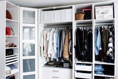 Mein Ankleidezimmer & Tipps für den PAX Kleiderschrank | Dressing ...