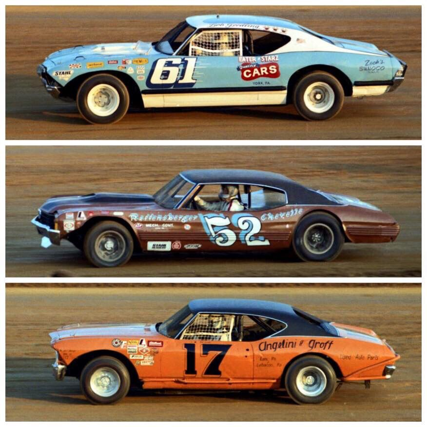 Vintage Dirt Cars At Williams Grove 1973