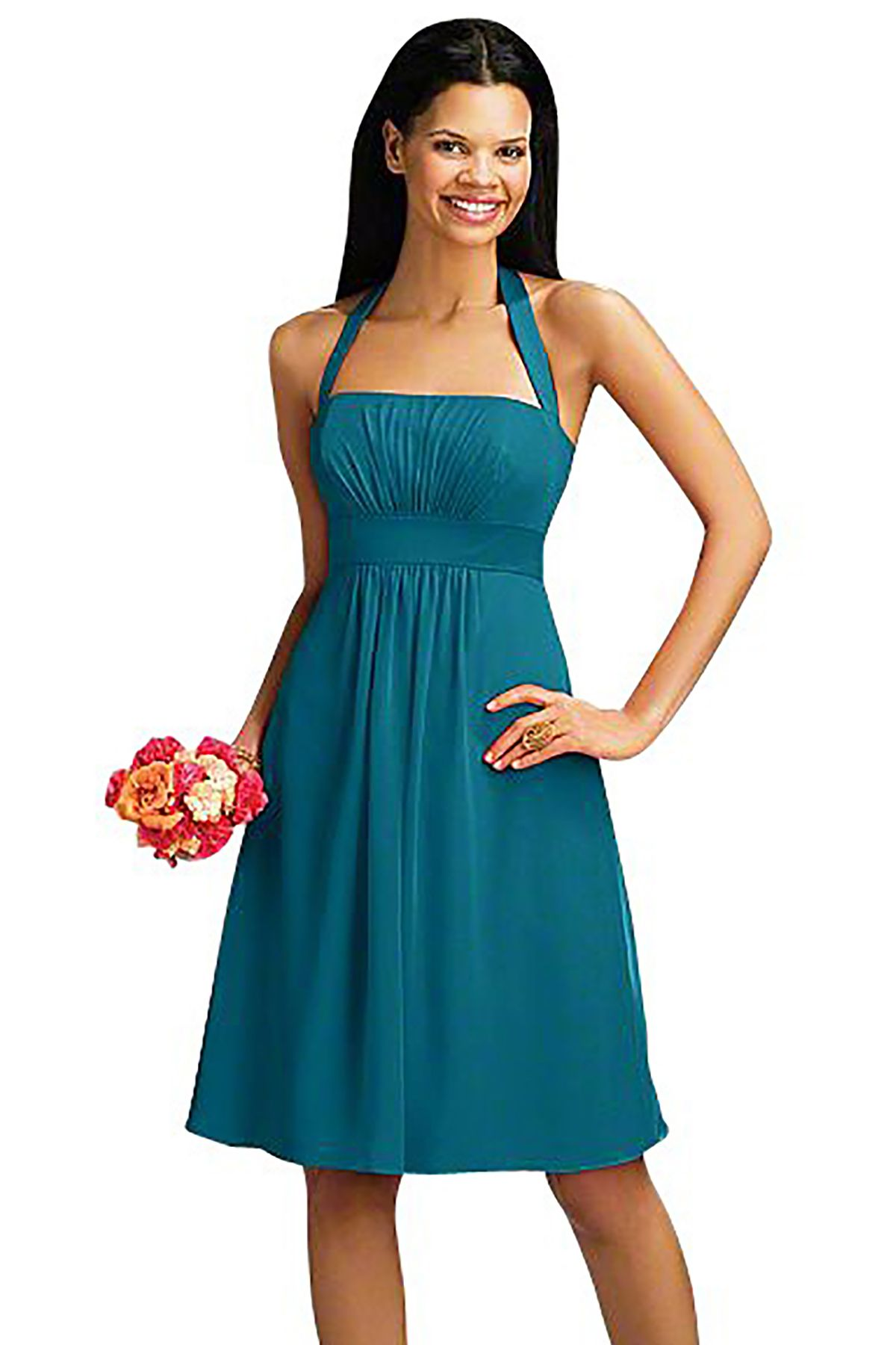 Alfred angelo 7016 s bridesmaid dress in turquoise in chiffon alfred angelo 7016 s bridesmaid dress in turquoise in chiffon ombrellifo Gallery