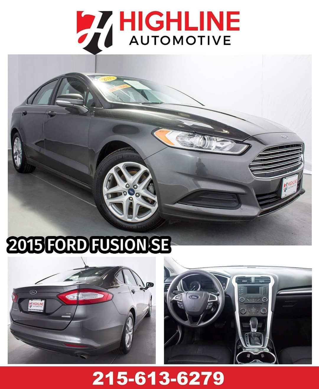 Ford Fusion Se We Finance Any Credit Or No Credit Complete