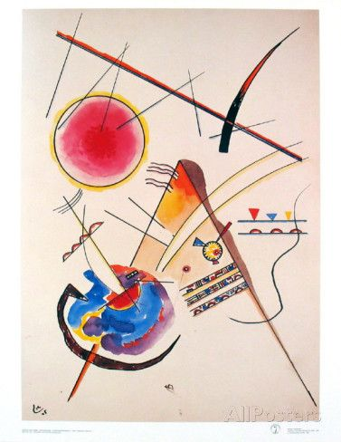 Aquarelle Gastebuch 1925 Posters By Wassily Kandinsky Wassily