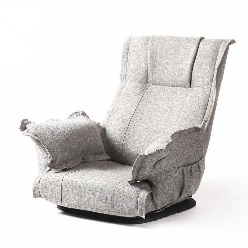 Gut Moderne Faltbare Boden Drehstuhl 360 Grad Umdrehung Wohnzimmer Möbel Großen  Klappboden Entspannen Polster Sessel