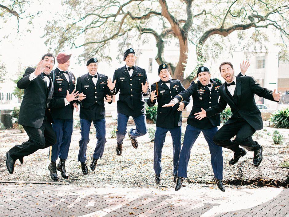 db33b31aeae3b Army wedding. Groomsmen.