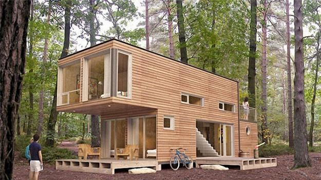 Fabulous Budget House Designs Recycling Empty Cargo Containers ...
