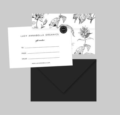 Say your thank youu0027s with a beauitful Lucy Annabella Voucher or - create a voucher