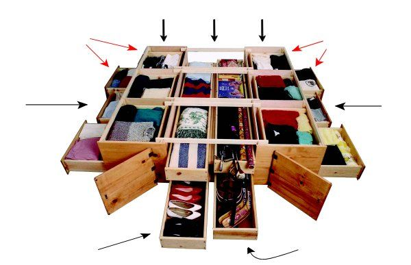 Under bed drawer system. I like the idea and the Bob and ...