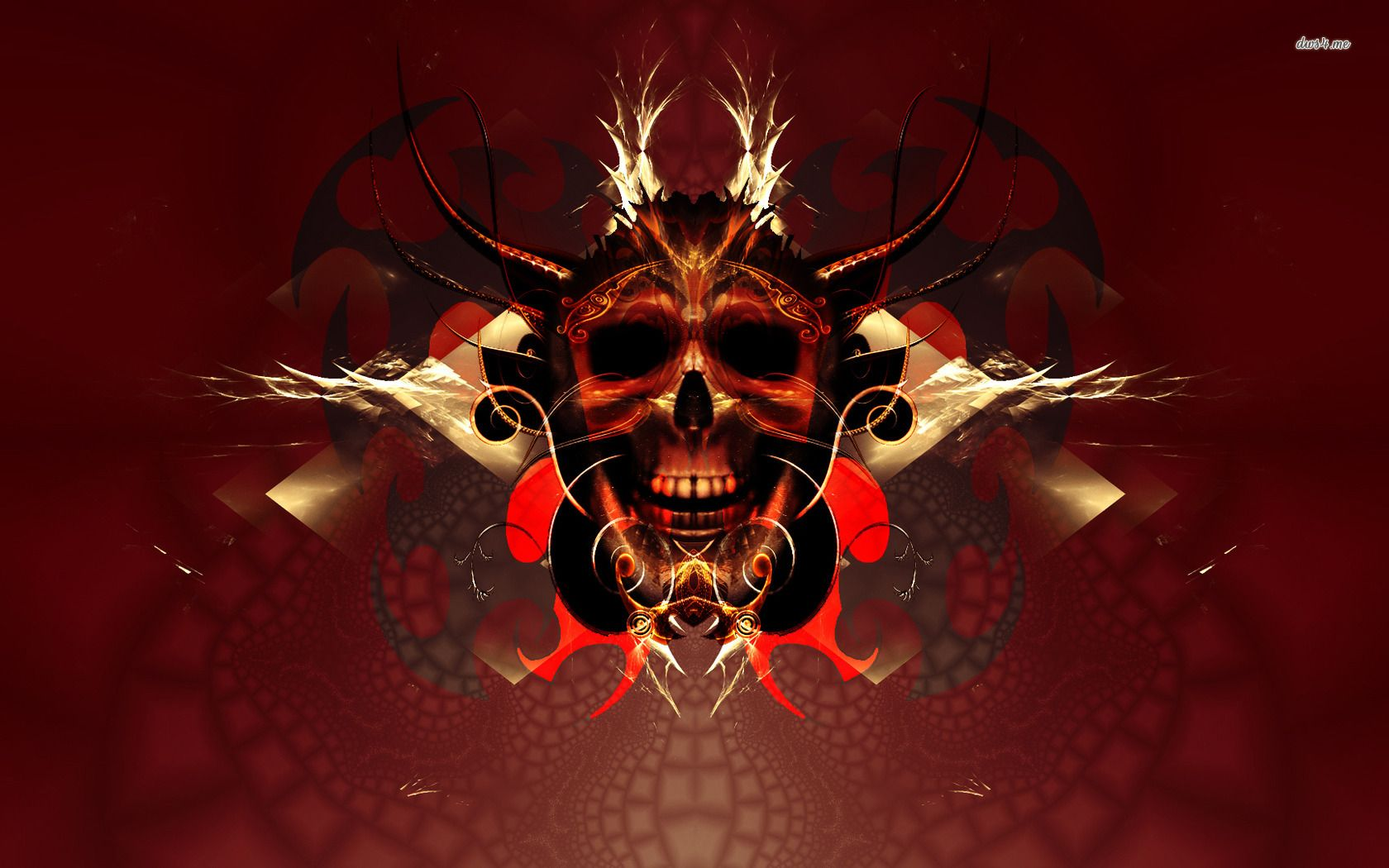 Red Skull Wallpaper Image Cool Punk Wallpaper For Guys 1680 1050 Red And Black Skull Wallpapers 44 Wall Black Skulls Wallpaper Skull Wallpaper Skull Pictures
