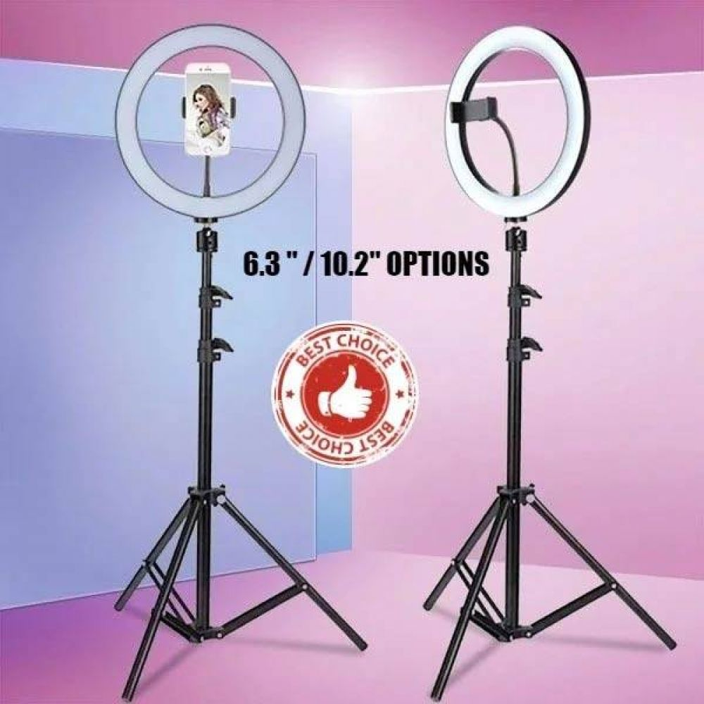 Dimmable Ring Light With Stand For Selfie Tiktok Zoom Facetime Youtube Novelty Store Ring Light With Stand Selfie Light
